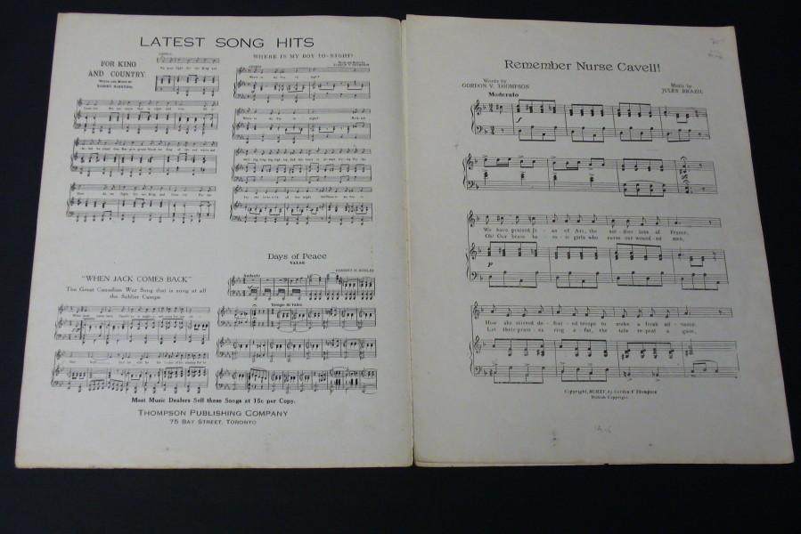 Lyric brazil song lyrics : Thompson, Gordon V. (Lyrics) ; Brazil, Jules (Music) , Sheet music ...