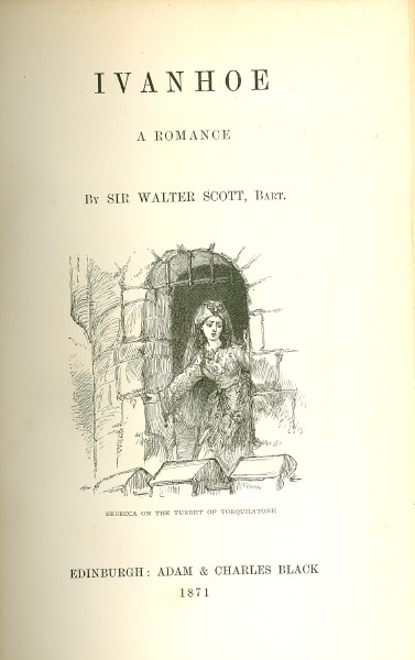 an analysis of prejudice against jews in ivanhoe by sir walter scott Ivanhoe is a rather sharp-edged story of intolerance, both personal and social, in the middle ages although it is one of the earliest historical novels, written by sir walter scott, the originator of the genre, history is but vaguely represented in the work, except in the personages of such.